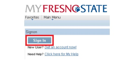 MyFresnoState login