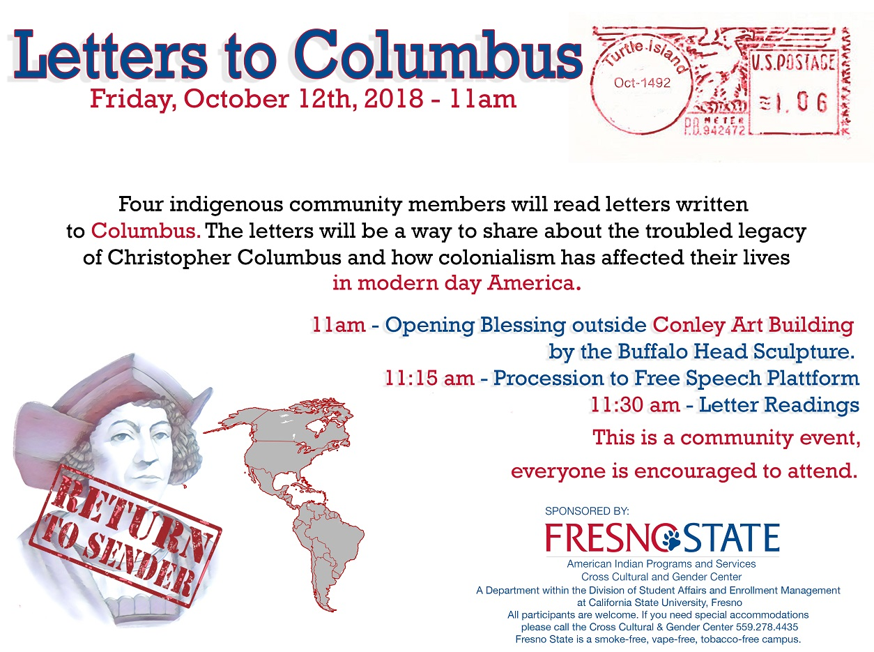 Letters to Columbus