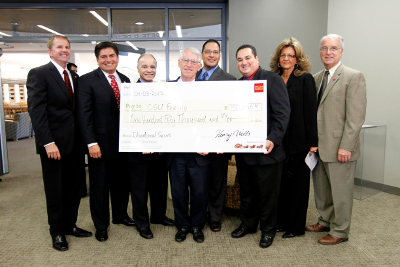 Wells Fargo Check Presentation to CLASE, Title V