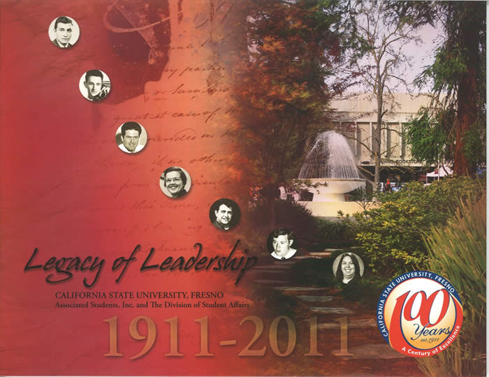 Legacy of Leadership Booklet cover