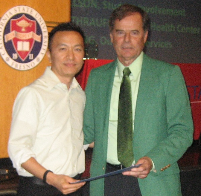Phong Yang and Bernie Vinovrski