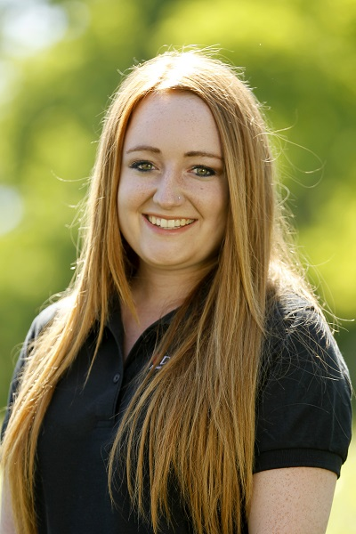 Photo of Student Coordinator Kelci Goss.
