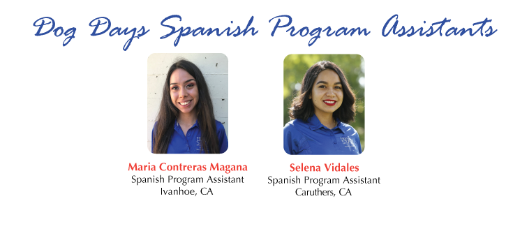 Dog Days Spanish Program Assistants