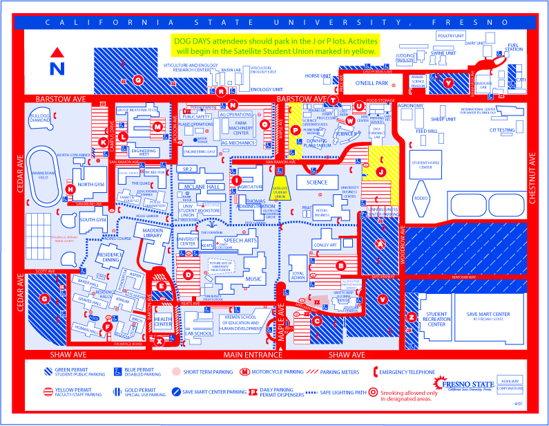 Fresno State Campus Map 2014 Related Keywords Suggestions Fresno