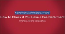 How to Check For a Fee Deferment