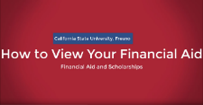 How to View Your Financial Aid
