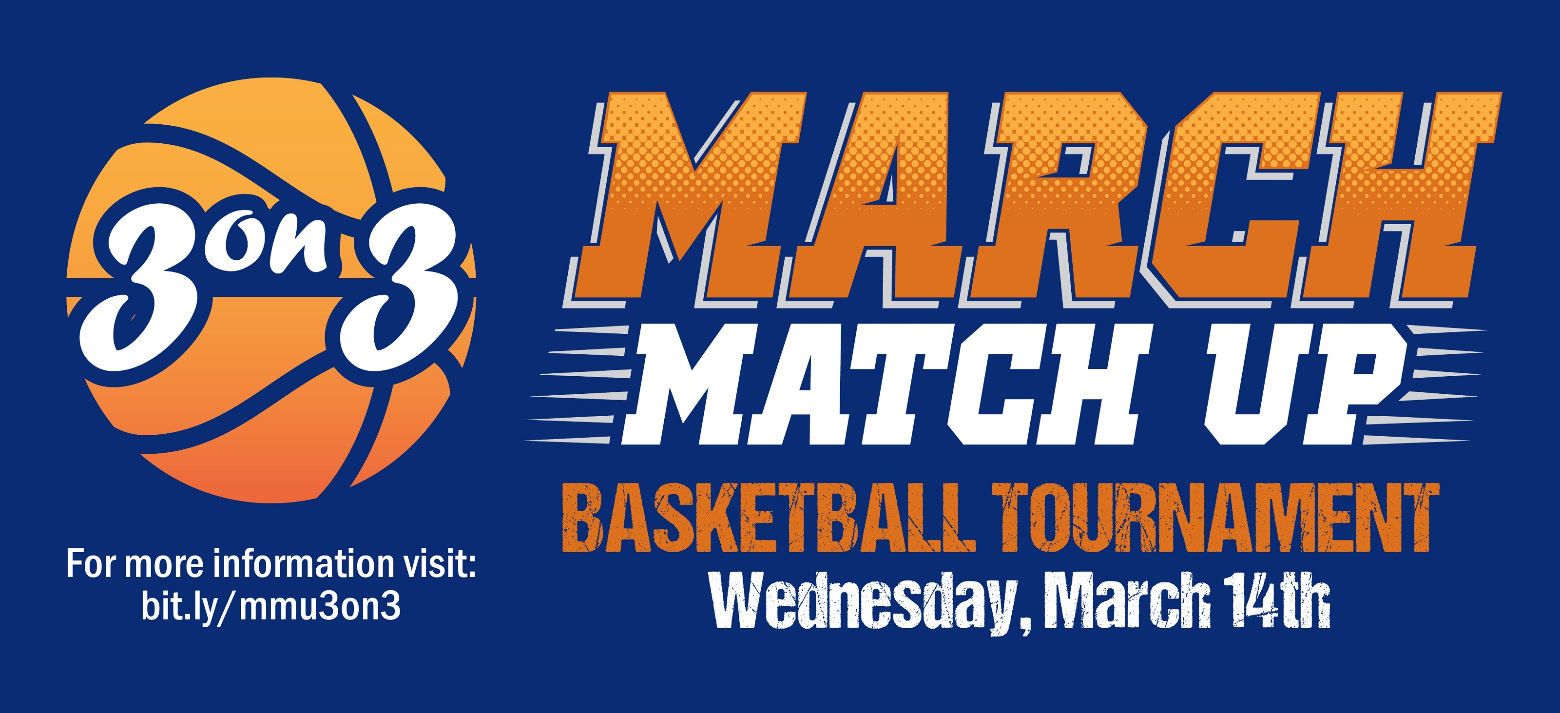 March March Up 3 on 3 basketball tournament and wellness fair
