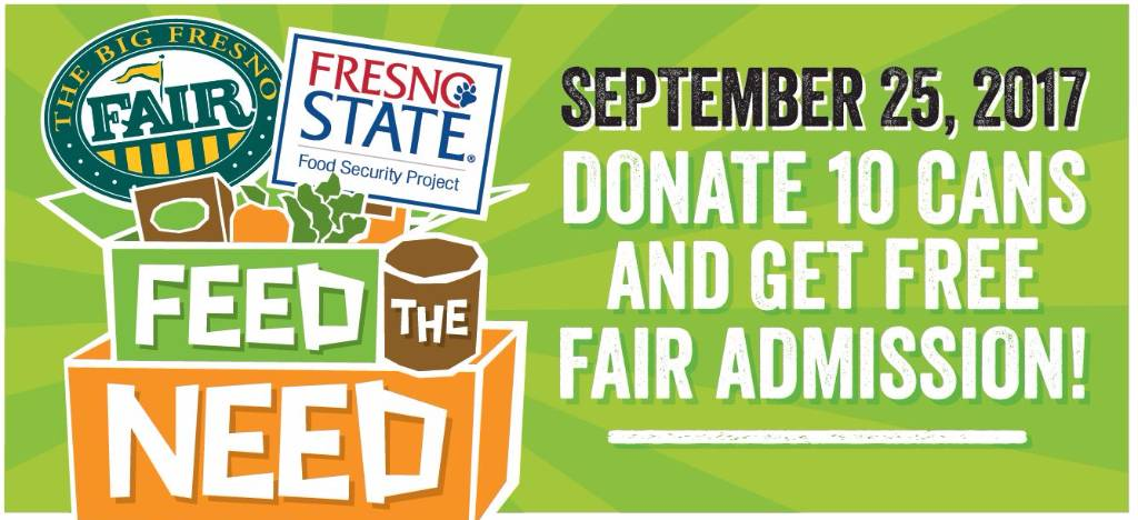 Feed the Need Fresno State Food Drive