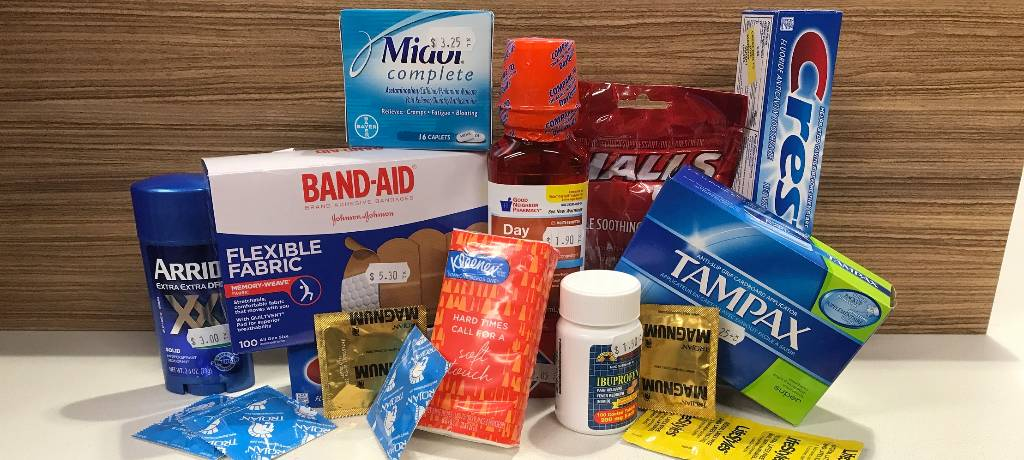 Over the Counter Products Available at Pharmacy