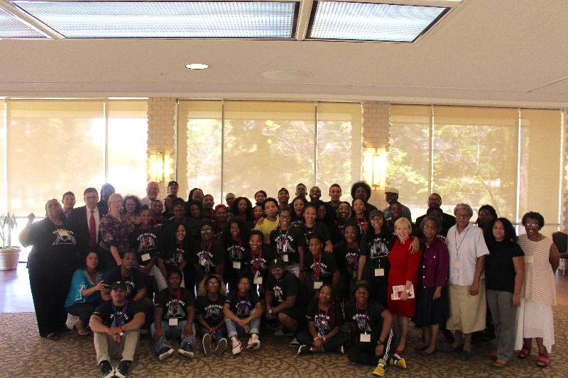 Group photo of the harambee retreat