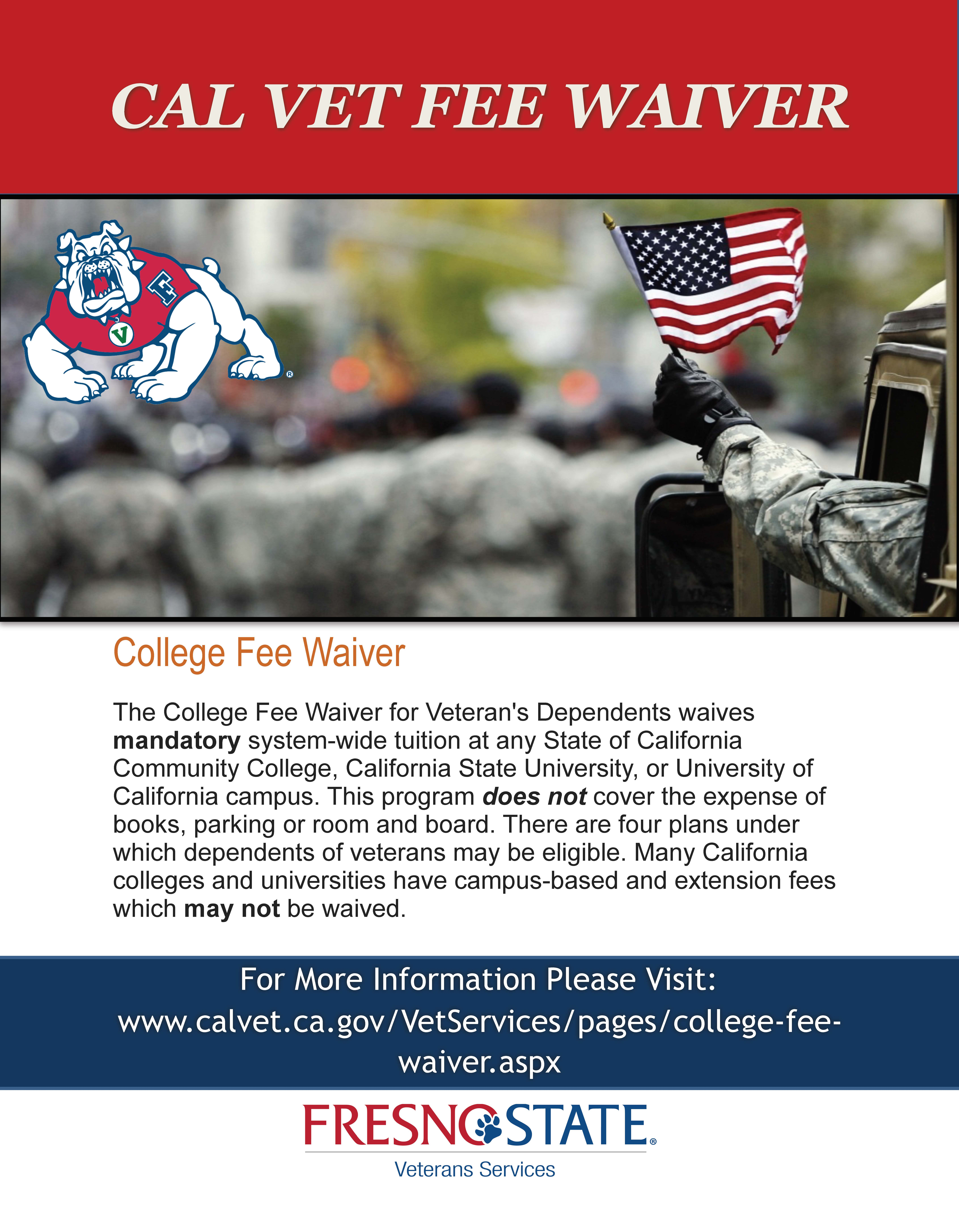 College Fee Waiver