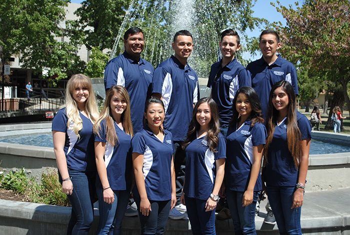 Group photo of 2015-2016 Campus Involvement Ambassadors