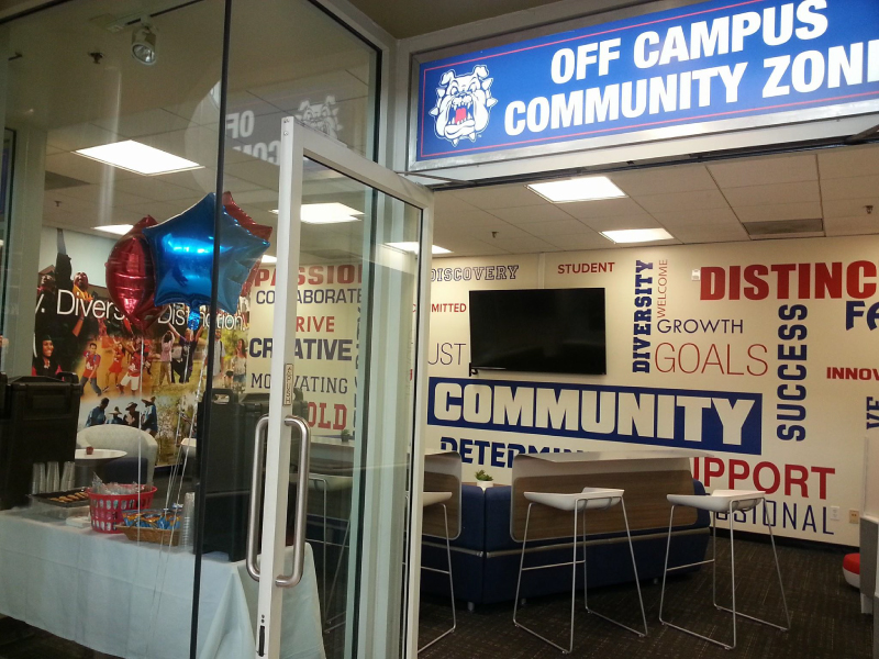Off Campus Community Zone