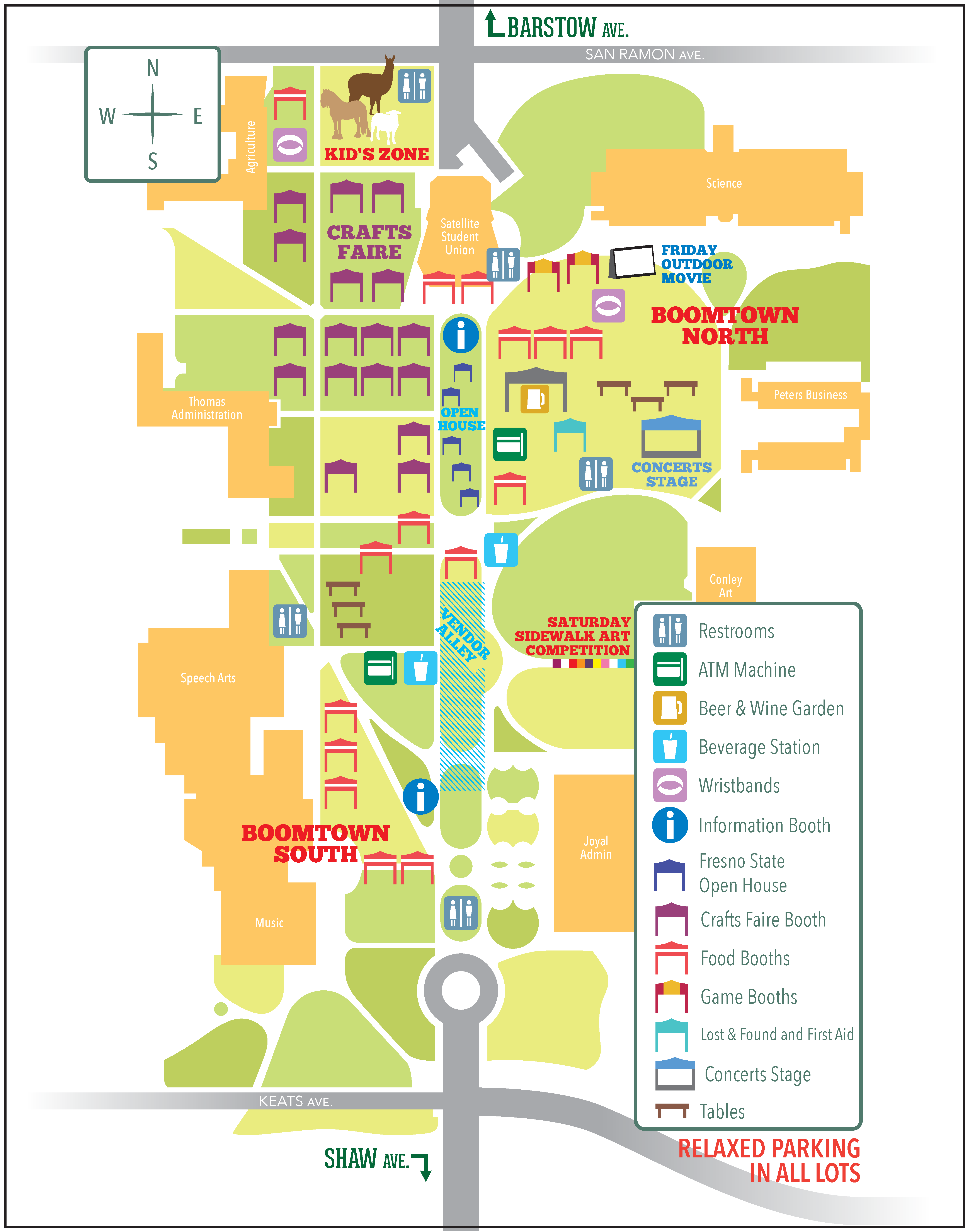 Event Map of Vintage Days 2016