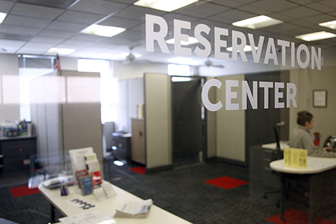 Reservation Center Window