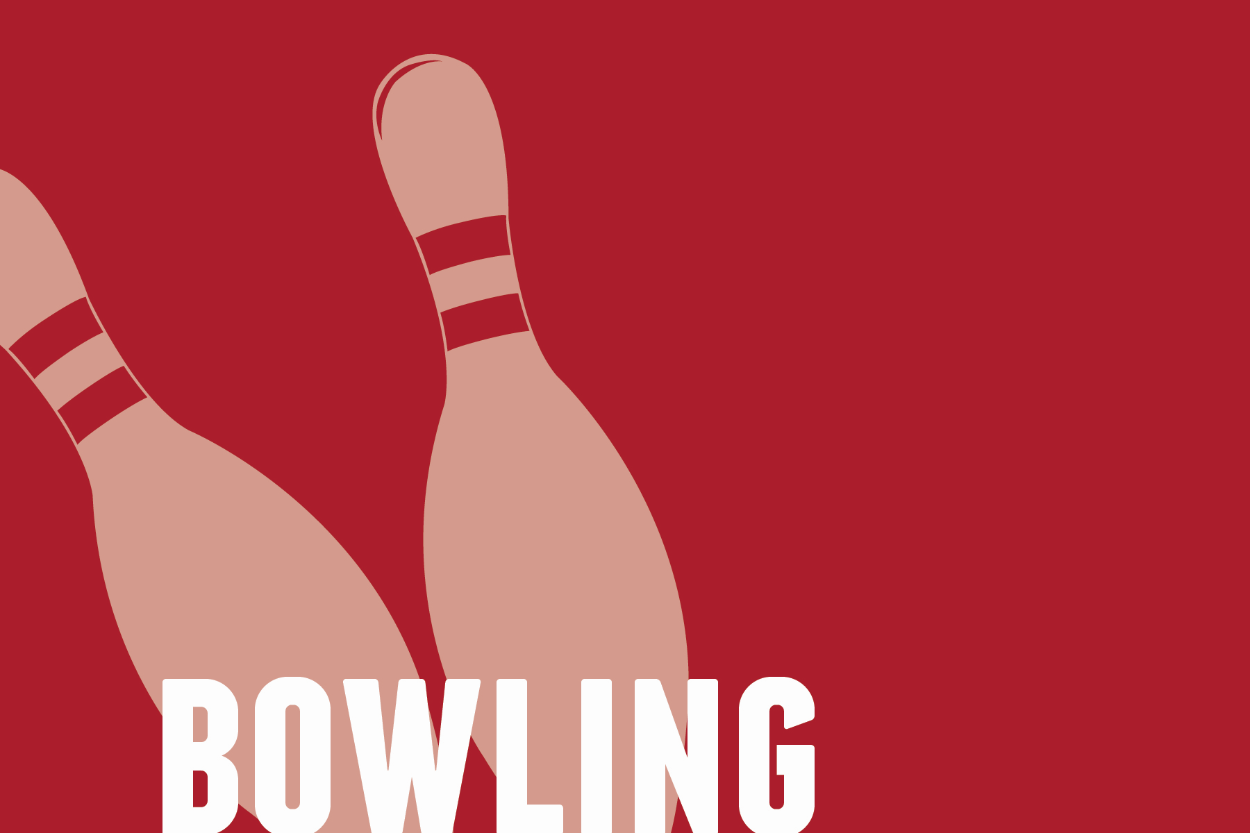 Vector Graphic of Bowling Pins