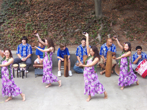 Hawaiian Dancers