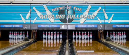 bowling bulldogs pins