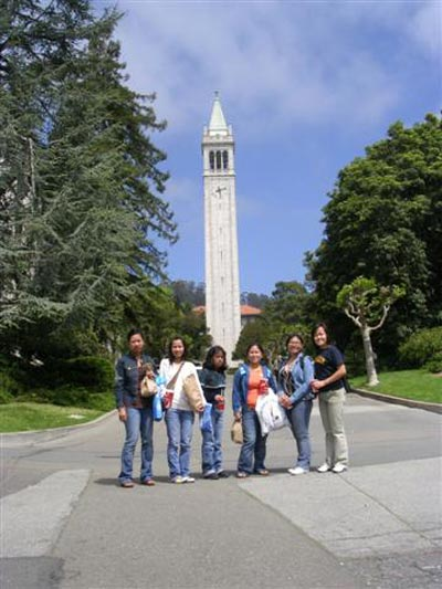 Berkeley Campus Tour